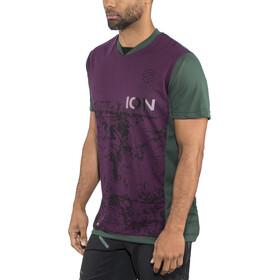 ION Scrub AMP T-Shirt Heren, groen/rood